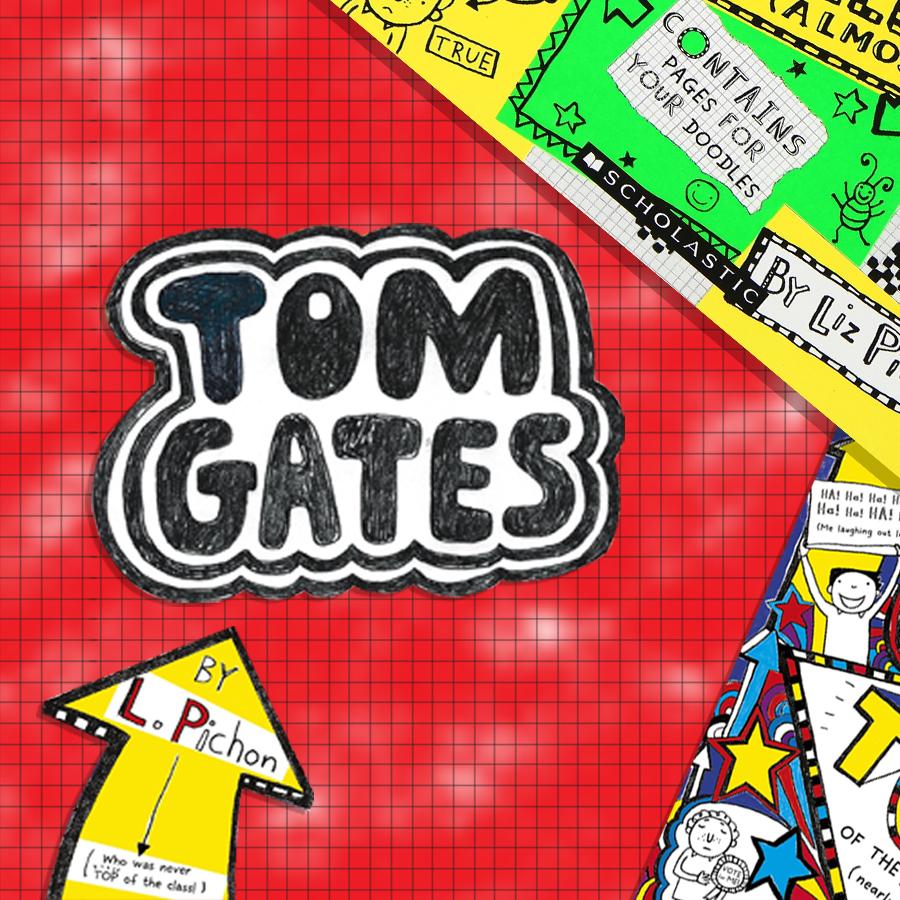 Children's Popular Authors Blocks Tom Gates 900x900