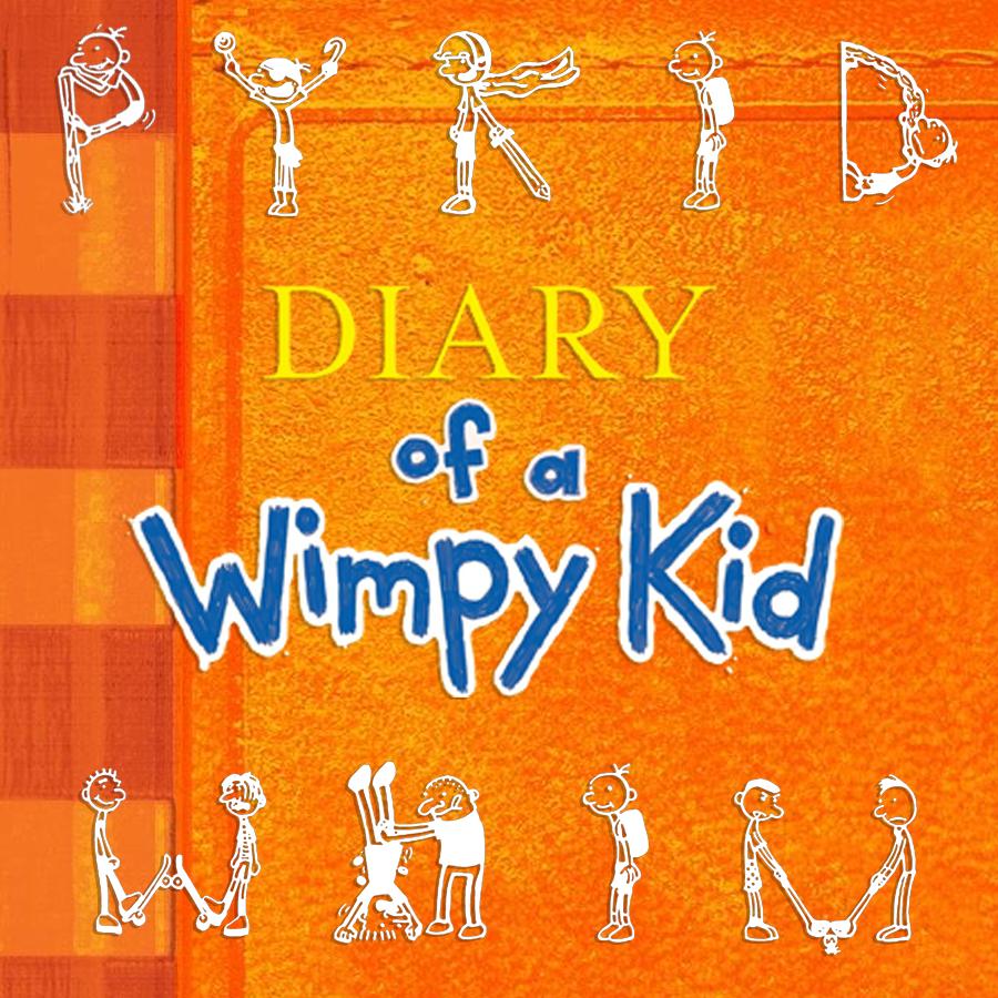 Children's Popular Authors Blocks Wimpy Kid 900x900