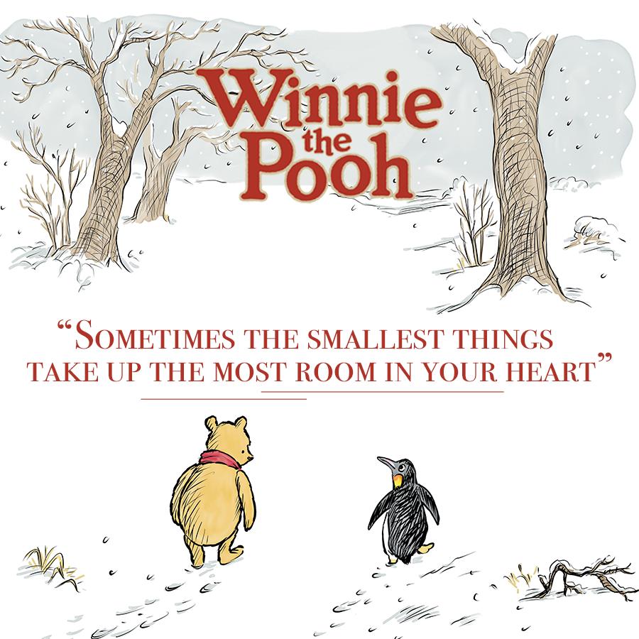 Children's Popular Authors Blocks Winnie the Pooh 900x900