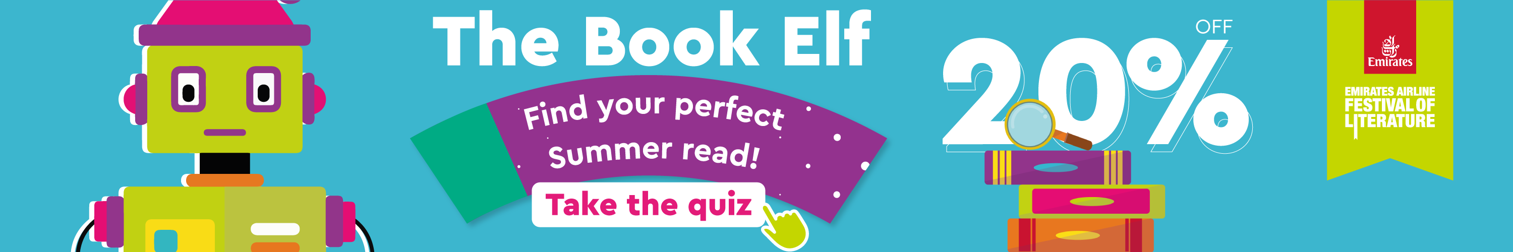 The book elf homepage banner